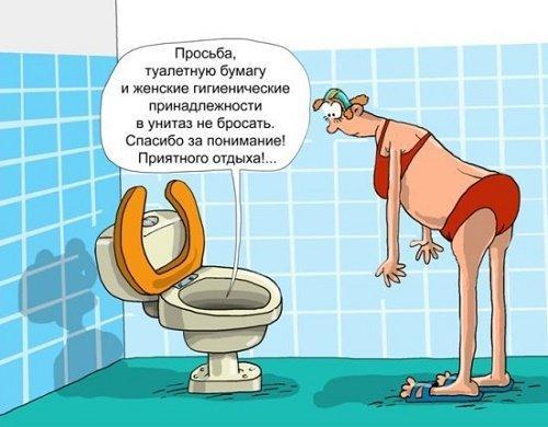 смешной до слез анекдот про туалет