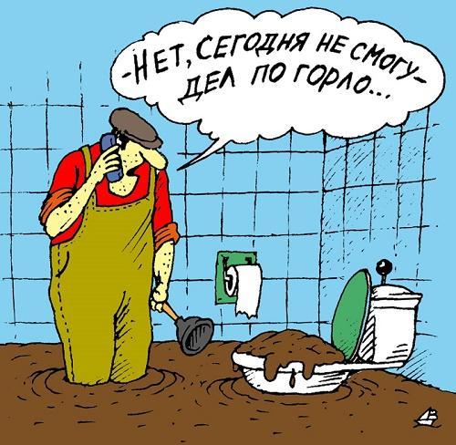 короткий анекдот про туалет