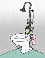 Лучшие анекдоты про туалет
