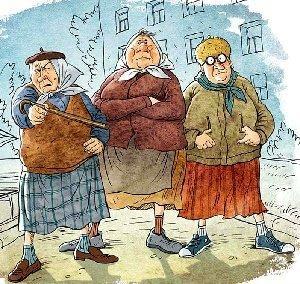 Самые смешные шутки про бабушек
