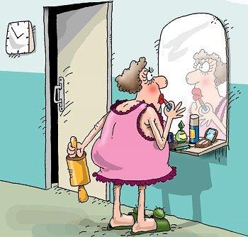 Шутки про баб