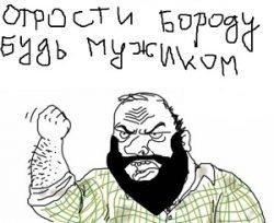 Смешные до слез шутки про бороду