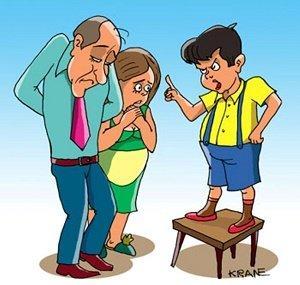 Шутки про родителей