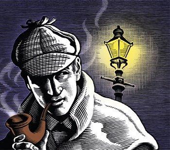 Шутки про Шерлока Холмса