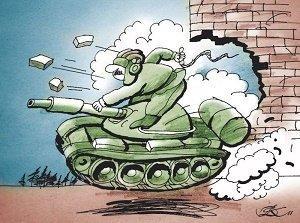 Самые смешные шутки про танки