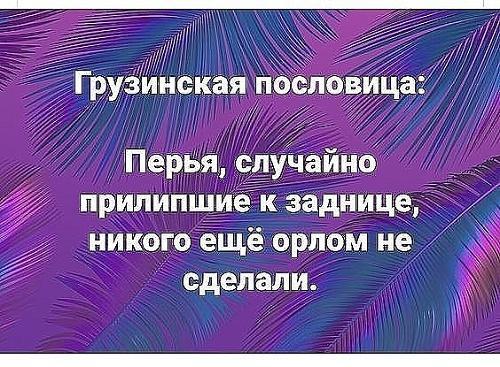 грузинские пословицы