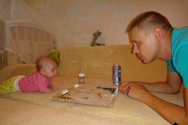 когда нянька папа