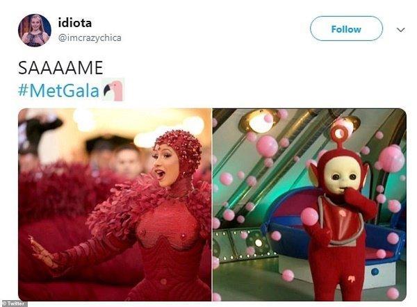 Смешные мемы на наряды звезд на Met Gala 2019