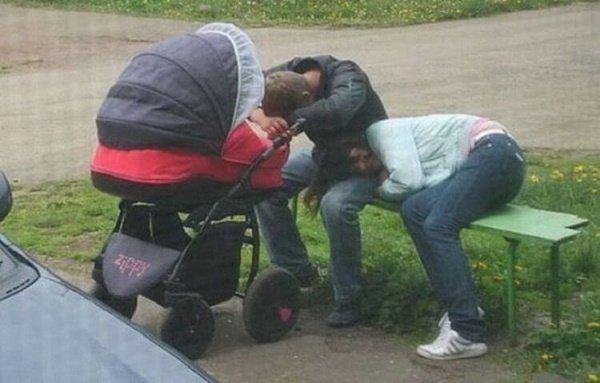 сон молодых родителей
