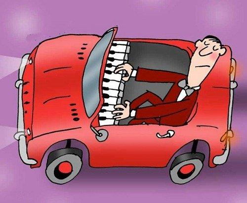 Анекдоты на тему автомобилей