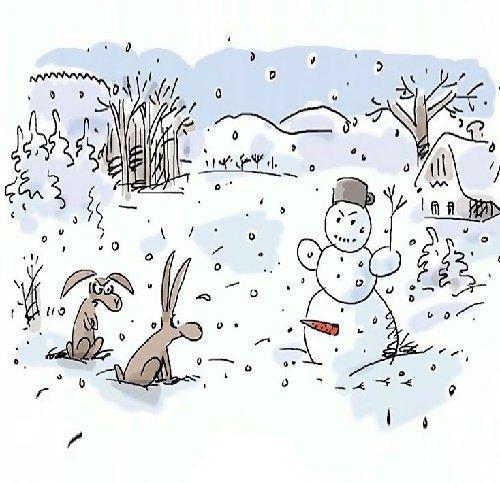 зимние анекдоты