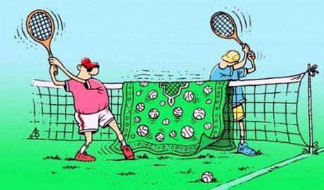 анекдоты про большой теннис