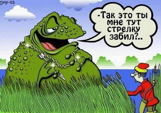 Read more about the article Анекдоты в картинках про сказочных героев