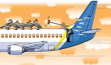 анекдоты про гражданскую авиацию