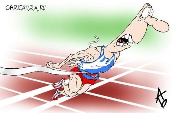 анекдоты про легкую атлетику