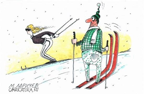 Read more about the article Анекдоты про лыжников