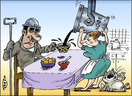 Анекдоты про металлургов и сталеваров
