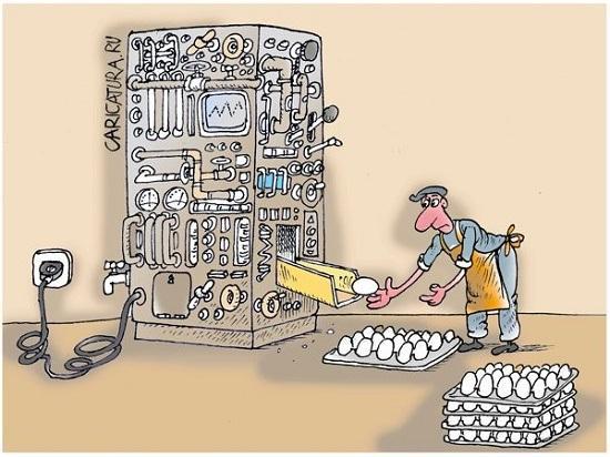Анекдоты про модернизацию и нанотехнологии