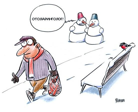Анекдоты про отоларингологов