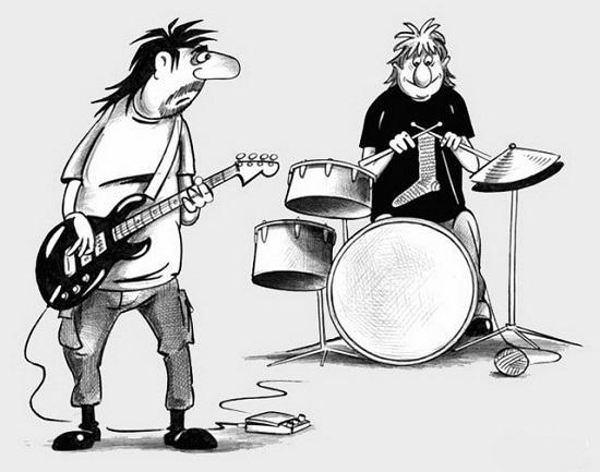анекдоты про рок