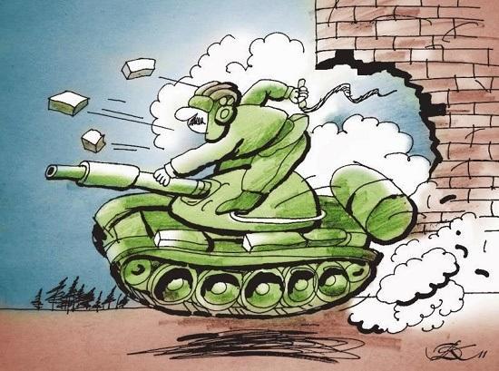 анекдоты про танкистов