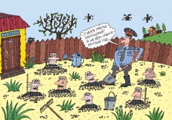 анекдоты про участкового полицейского