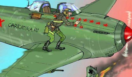 анекдоты про военных летчиков