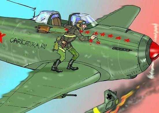 Read more about the article Анекдоты про военных летчиков