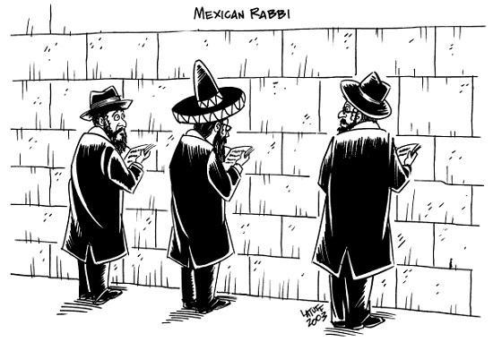 Карикатуры про евреев
