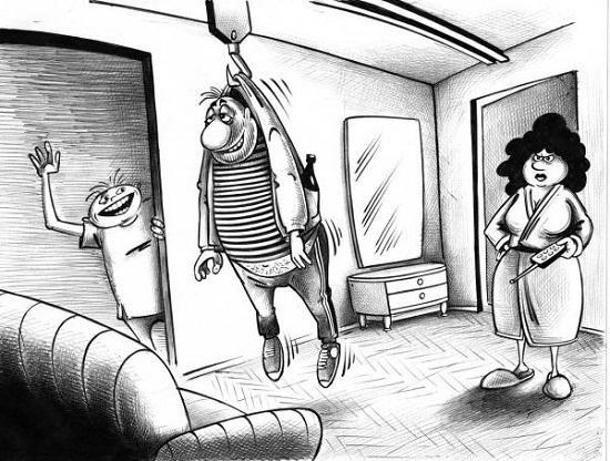карикатура про сергея