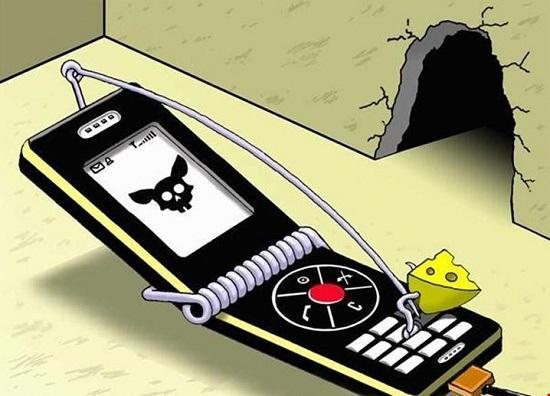 Анекдоты в картинках про телефон