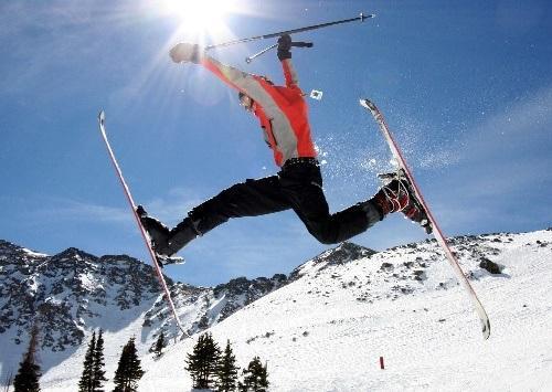 веселые статусы лыжников