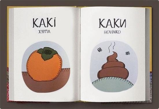 забавный чешско-русский словарик