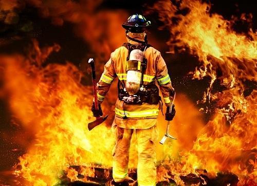 Интересные стихи про пожарных