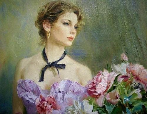 стихи о женской красоте