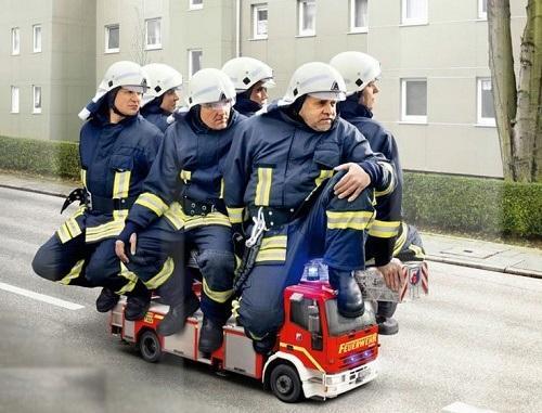 веселые статусы про пожарных