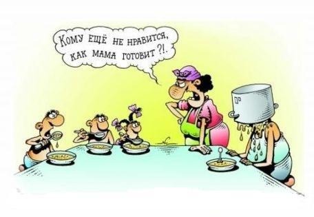 анекдоты про баб и детей