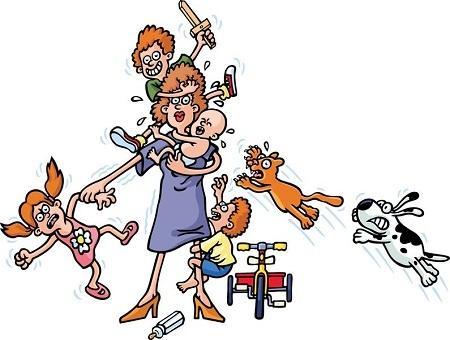 остроумные анекдоты про баб и детей