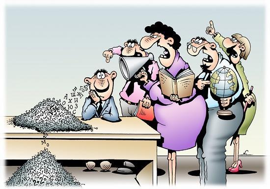 Смешные анекдоты про школу и учителей
