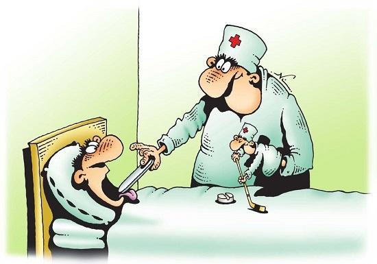 Анекдоты про докторов и прием