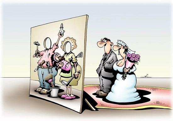 Анекдоты про жену и годы