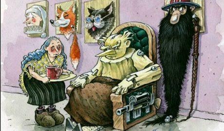 короткие взрослые сказки народов мира