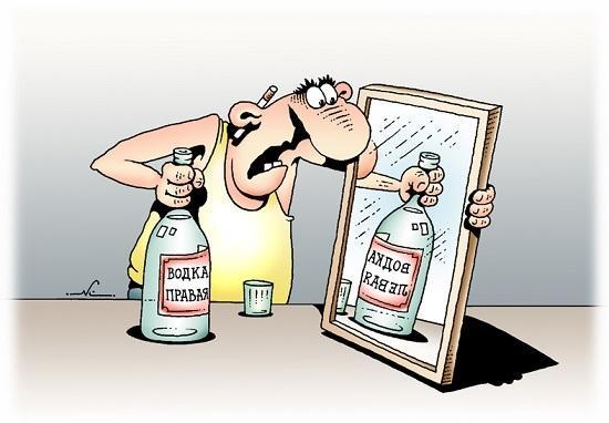 Смешные анекдоты про бутылку водки
