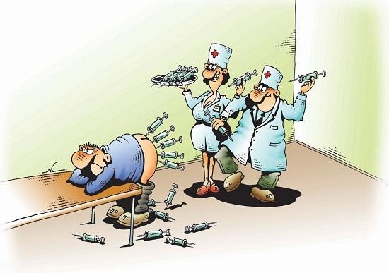анекдоты про доктора и время