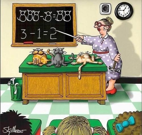 Анекдоты про школу и уроки