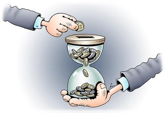 анекдоты про время и деньги