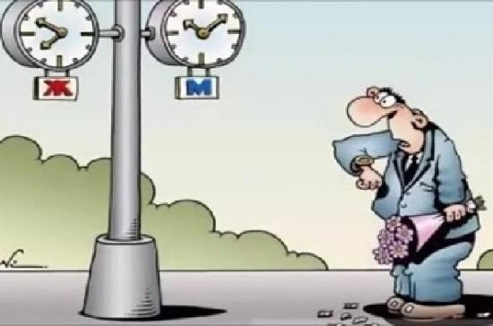 Анекдоты про время и дни