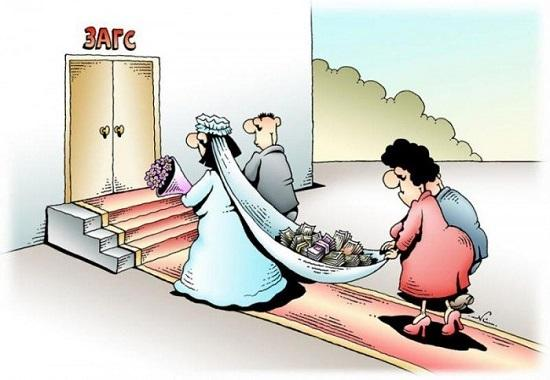 Анекдоты про женщин и деньги