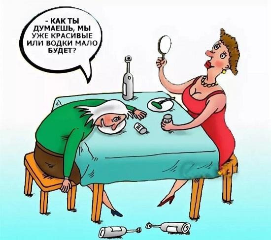 Анекдоты про женщин и девушек