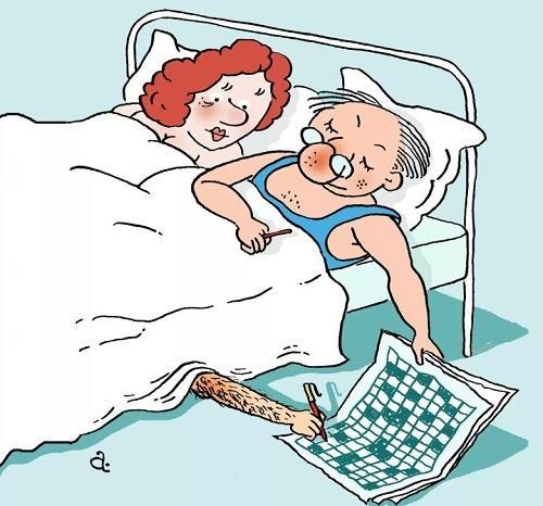 Анекдоты про жену и кровать